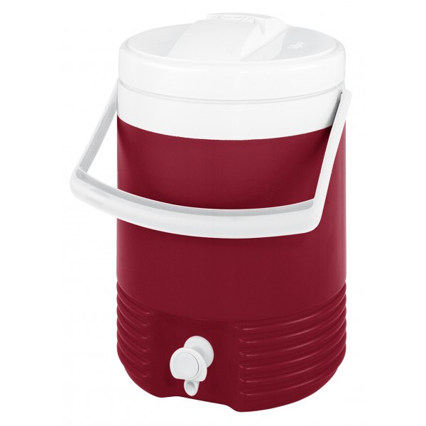 Legend 2 Gallon Drinks Cooler – Red/White