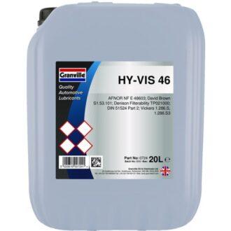 Hy-Vis Hydraulic Oil 46 – 20 Litre