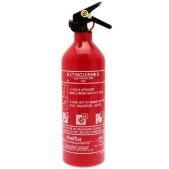 ABC Dry Powder Fire Extinguisher – No Gauge – 1kg
