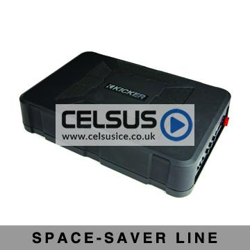 HS 8″ Compact Powered Loaded Enclosure