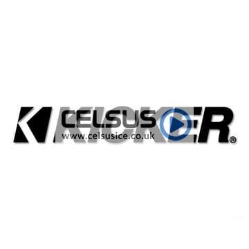 Kicker Logo Decal – Black – 6″