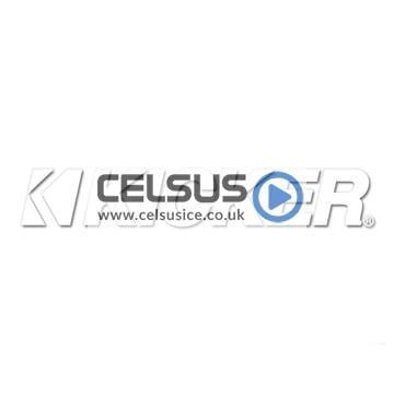 Kicker Logo Decal – White – 19″