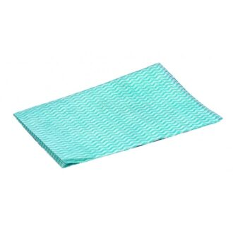 Disposable Wiping Cloths –  Green – Pack of 50