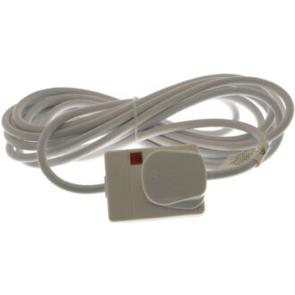 1 Way Extension Socket – White – 5m
