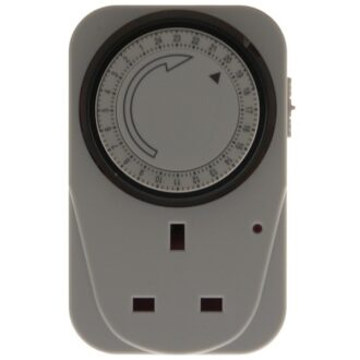 24 Hour Plug In Timer Switch – White