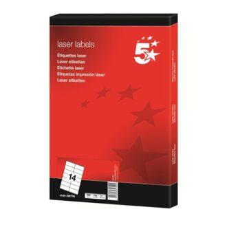 Laser Address Labels – 64 x 38mm – Pack of 2100
