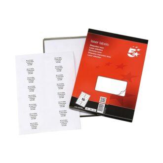 Laser Address Labels – 99 x 68mm – Pack of 1600