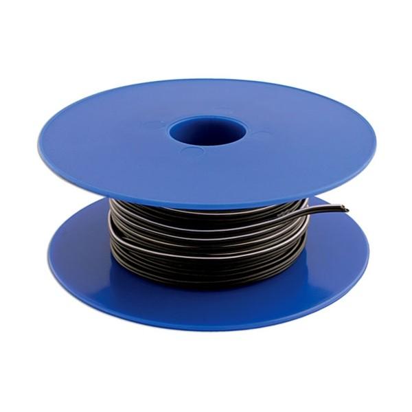 Twin Core Speaker Cable – 2 x 12/0.2mm – Black/White – 100m – 2A