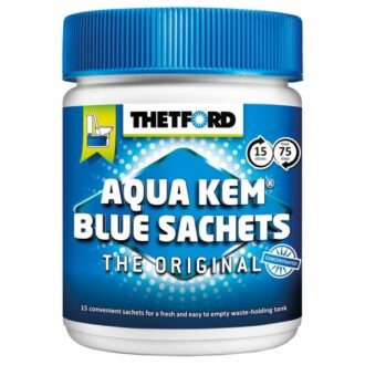 Aqua Kem Blue Toilet Sachets – Can of 15