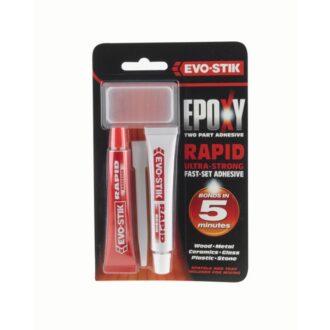 Evo-Stik Expoxy Rapid Metal – 2 x 15ml Tubes