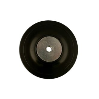 Rubber Backing Pad – 100mm