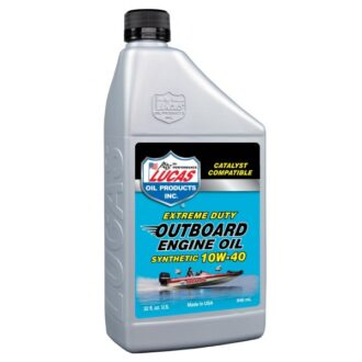 10W40 Fully Synthetic Outboard Engine Oil – 946ml
