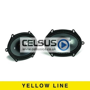 CS 6″ x 8″ (160 x 200 mm) Coaxial Speaker System
