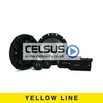CS 6.75″ (165 mm) Component Speaker System