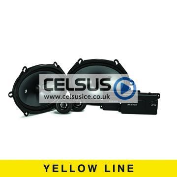 CS 6″ x 8″ (160 x 200 mm) Component Speaker System
