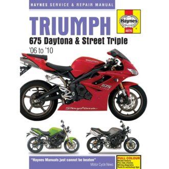 Motorcycle Manual – Triumph 675 (2006-2010)