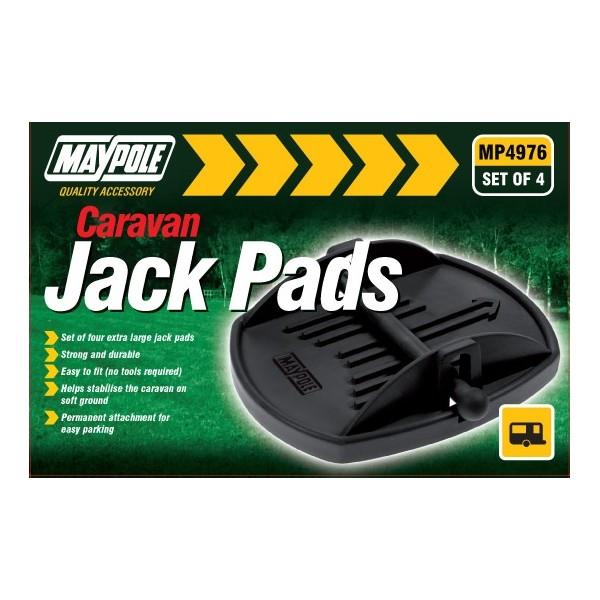 Caravan Jack Pads – Pack of 4