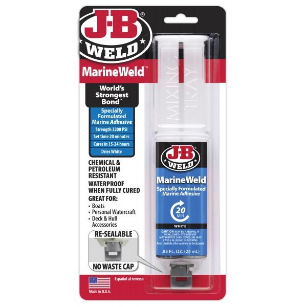 J-B Weld Marine Weld Syringe – Pack of 6