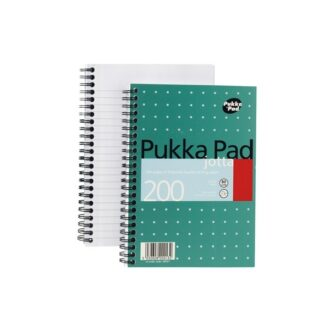 A5 Wirebound Ruled Jotta Notebook – 100 Sheets – Pack of 3
