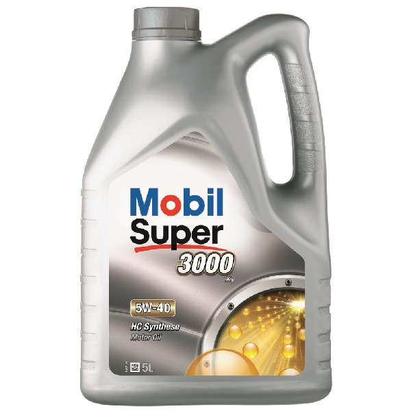 Mobil Super 3000 X1 Engine Oil – 5W-40 – 5ltr