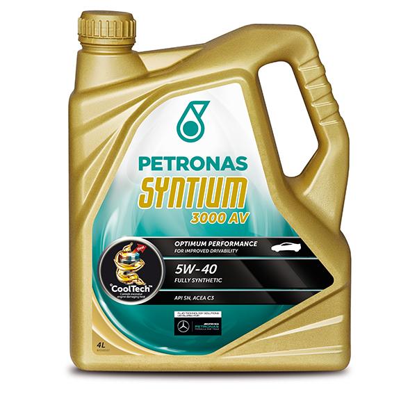 Petronas Syntium 3000 AV (PD) Engine Oil – 5W-40 – 4ltr
