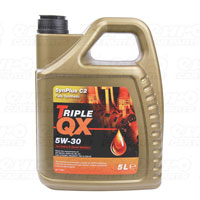 TRIPLE QX Fully Synthetic (Low Saps C2) Engine Oil – 5W-30 – 5ltr