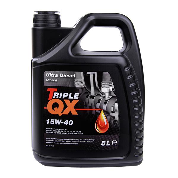 TRIPLE QX Mineral Diesel Engine Oil – 15W-40 – 5ltr