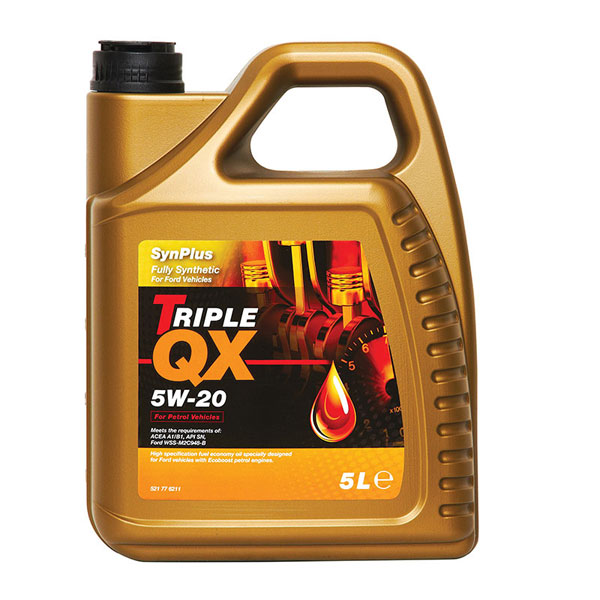 TRIPLE QX Synplus Fully Synthetic Engine Oil – 5W-20 – 5ltr