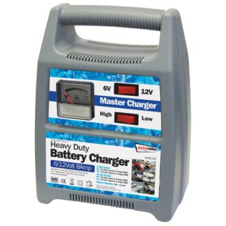 Streetwize 6/12v 8 Amp Automatic Plastic Cased Battery Charger