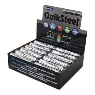 Steel Epoxy Putty – 24 x 2oz Stick Acrylic CDU