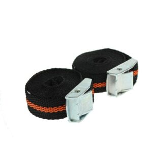 Luggage Straps with Cam Buckle – 2.5m x 25mm – Pack of 2