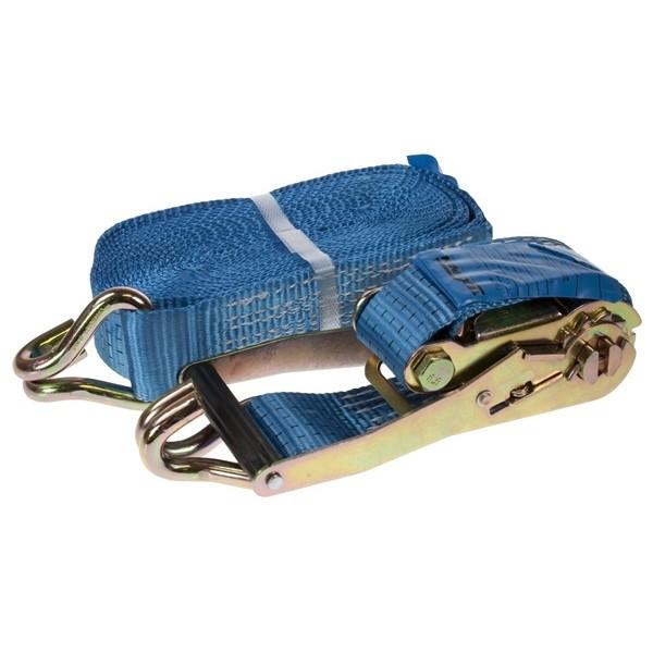 Ratchet Tie Down Strap & Hooks – 8m x 50mm