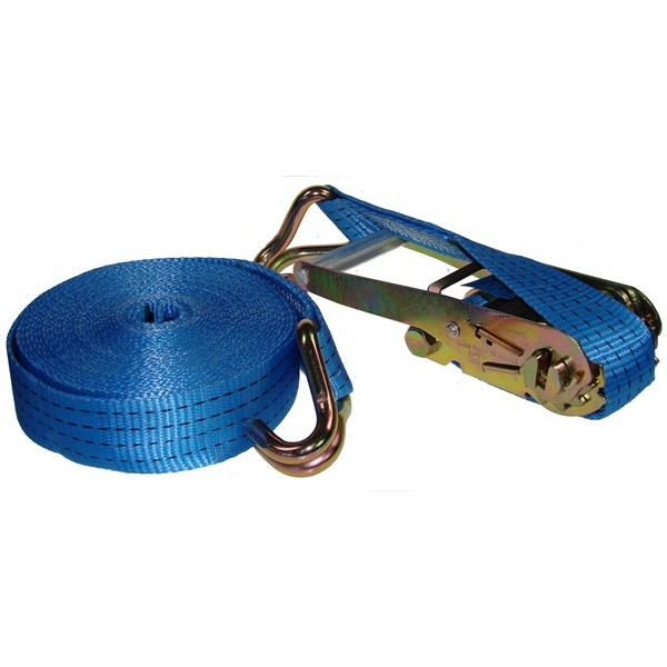 Ratchet Tie Down Strap & Hooks – 10m x 50mm