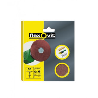 Fibre Sanding Discs – P36 – 115mm – Pack Of 3