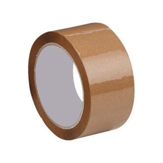 Packaging Tape – Brown – 50mm x 66m – Pack of 6