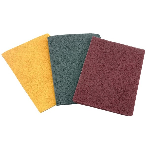 Non-Woven Hand Finishing Pads – 229 x 152mm Medium – Pack Of 10