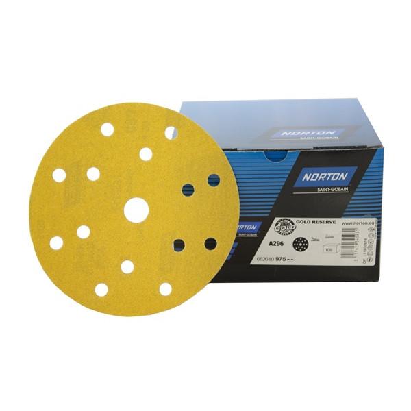 Sanding Discs – P180 – 150mm – Pack Of 100