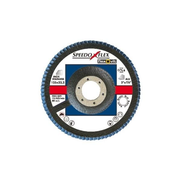 Zirconium Flap Discs – 115mm – P120 – Pack of 1