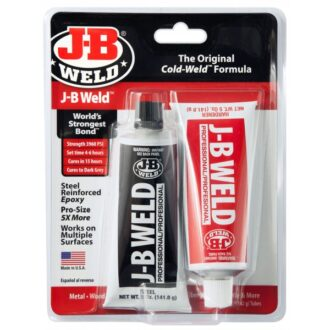 J-B Weld Kwik Weld 2 Part Epoxy Blister Pack – Pack of 6