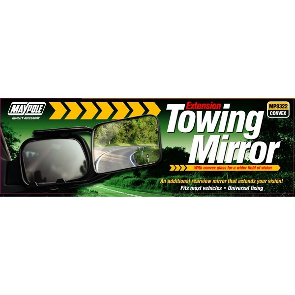 Towing Extension Mirror – Convex Glass