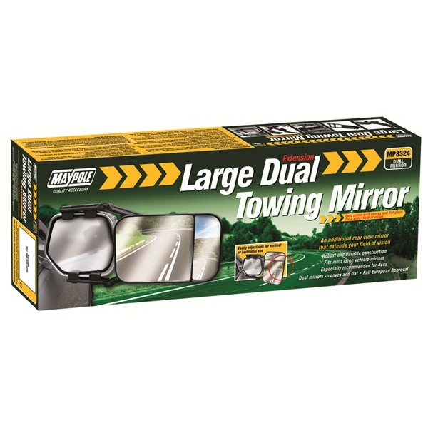 Towing Extension Mirror – Dual Glass