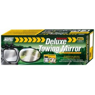 Towing Extension Mirror – Deluxe Convex Glass