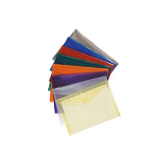 A4 Envelope Wallets – Assorted – Pack of 25