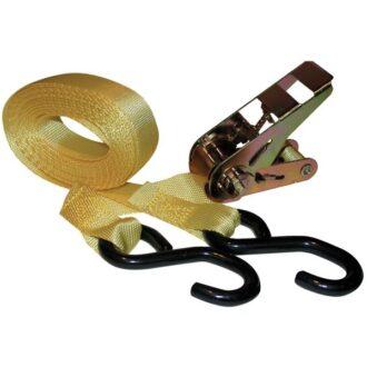 Kwiklok Ratchet Tie Down Strap & Hooks – 5m