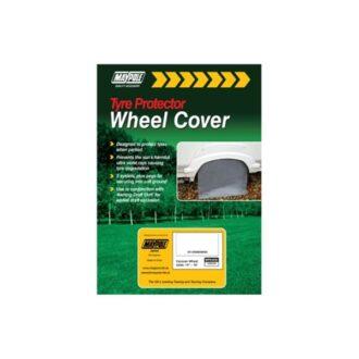 Caravan Wheel Cover & Pegs – 65 x 21cm – Grey