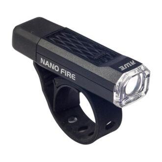 Nano Fire™ LED Front Cycle Light – Black – 12 Lumen