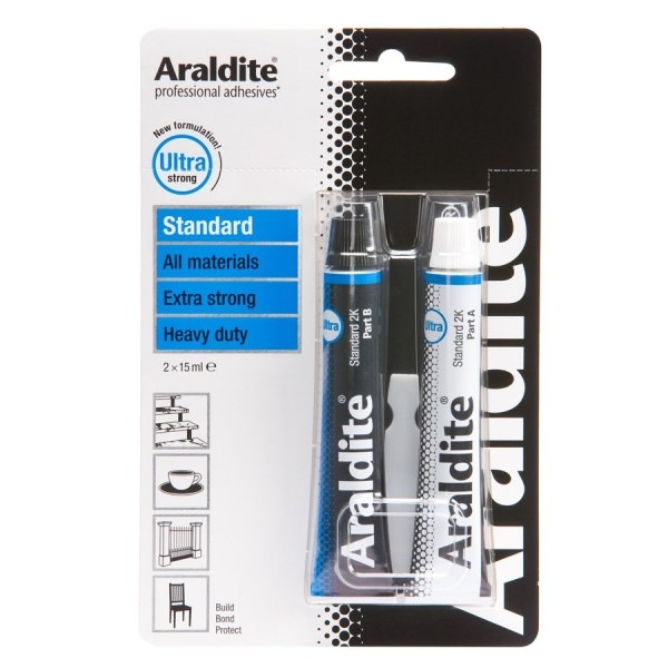Araldite Standard – 2 x 15ml Tubes