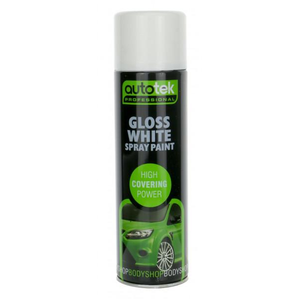 Aerosol Paint – Gloss White – 500ml