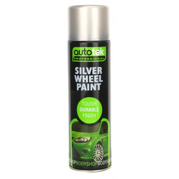 Wheel Paint – Silver – 500ml