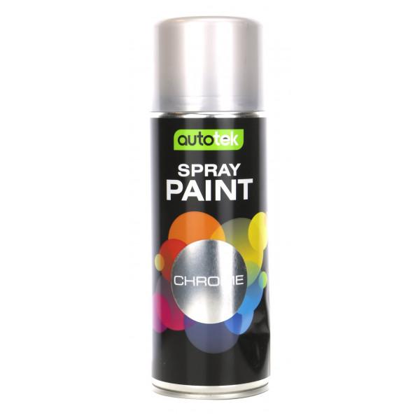 Aerosol Paint – Chrome – 400ml